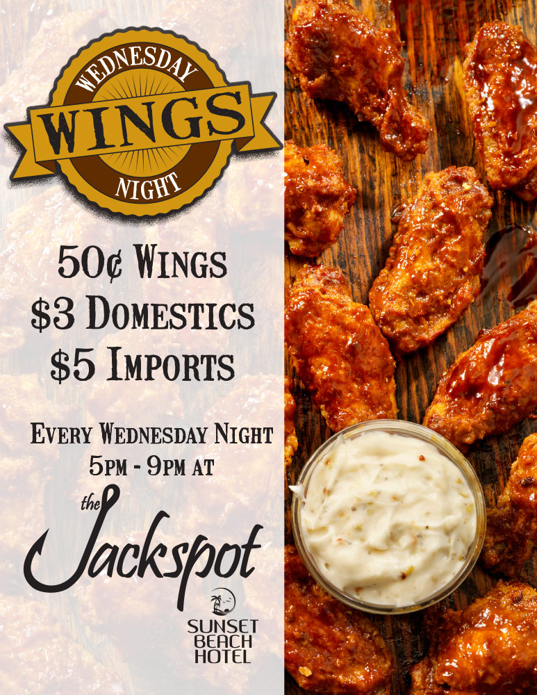 picture of Wednesday Wing Night flyer