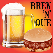 picture of logo for Brew 'N' Que